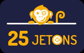 25 jetons