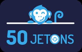 50 jetons
